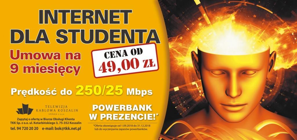 internet dla studenta w TKK